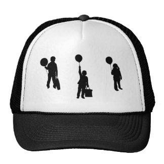 with balloon trucker hat