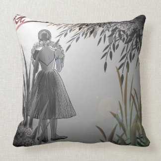 With Behind The Scenes behind scene Throw Pillow