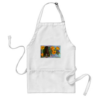 With Best New Year Wishes from California Adult Apron