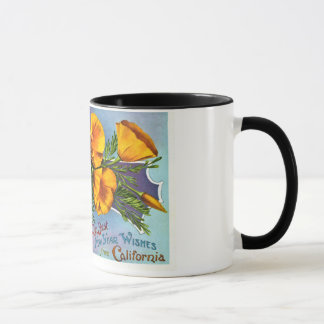 With Best New Year Wishes from California Mug