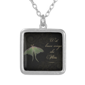 With Brave Wings Necklace