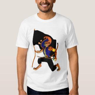With Cat-like Tread T-shirt