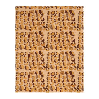 With cookies! cork fabric