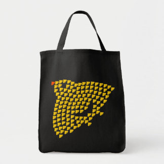 With crowd of plover duck tote bag