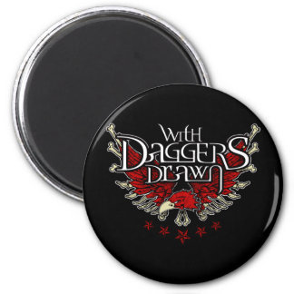 With Daggers Drawn Eag Refrigerator Magnets