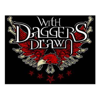 With Daggers Drawn Eag Postcard