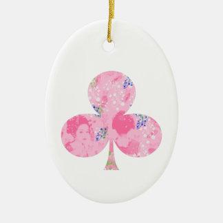 With dance 妓 a so bo 4 ceramic ornament