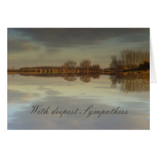 With deepest Sympathies Greeting Card