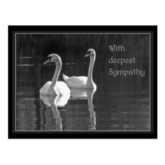 With deepest Sympathy Postcard