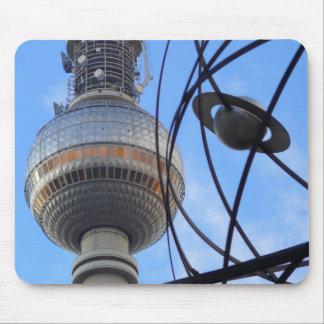 "WITH detalle of World "" Berlín TV Tower ""Programa  Tapetes De Ratón"