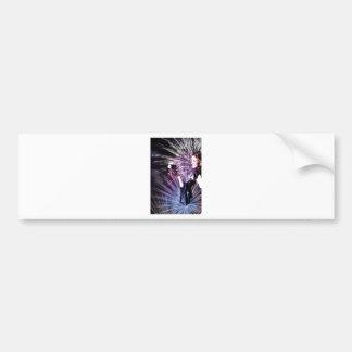 WITH EYES WIDE OPEN jpg Bumper Sticker