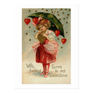 With Fondest Love Postcard