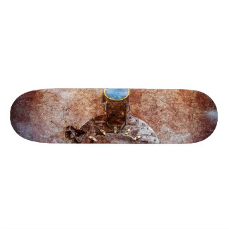 With Full Steam On Skateboard Deck