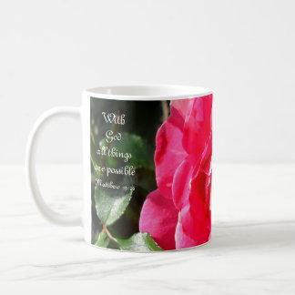With God all things are possible...Mug Coffee Mug