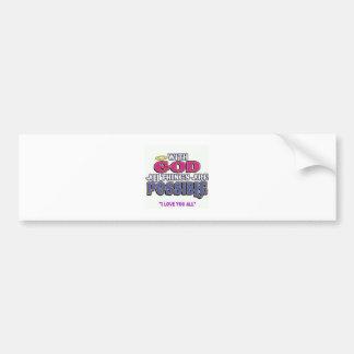 With God Bumper Sticker