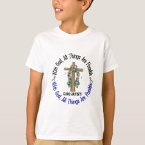 WITH GOD CROSS AUTISM T-Shirts & Gifts