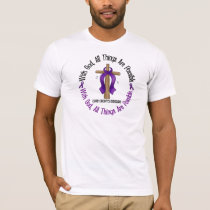 WITH GOD CROSS Crohn's Disease T-Shirts & Gifts