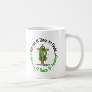 With God Cross Tourette's Syndrome Classic White Coffee Mug