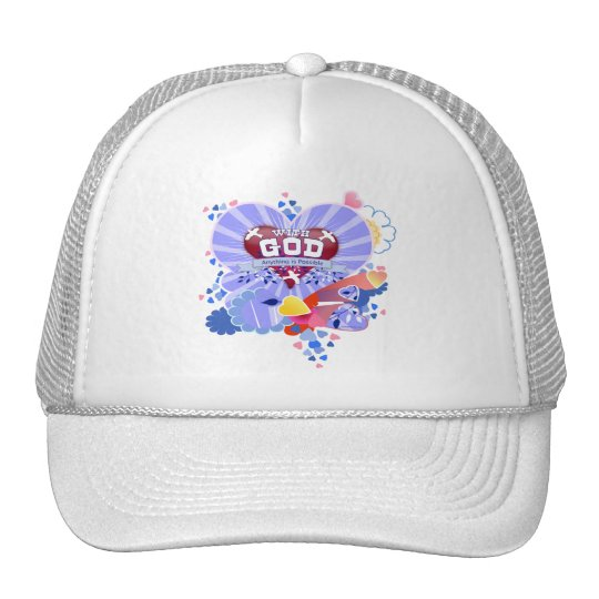 With God Hearts Trucker Hat