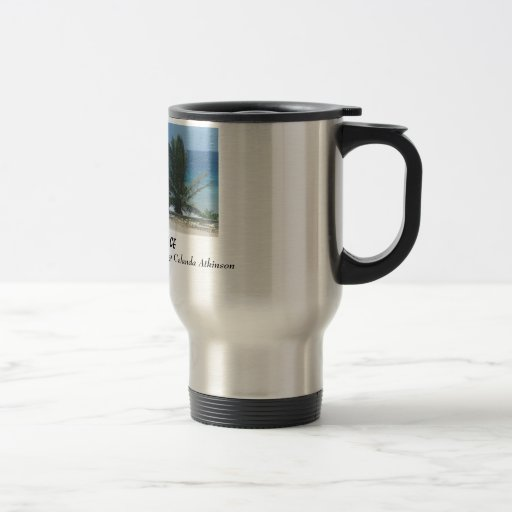 With God I Find Peace 15 Oz Stainless Steel Travel Mug