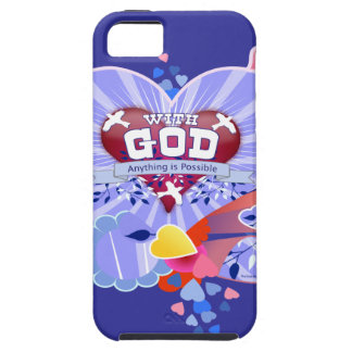 With God iPhone 5 Case