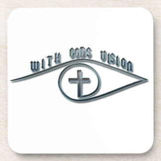 With GODS Vision Drink Coaster