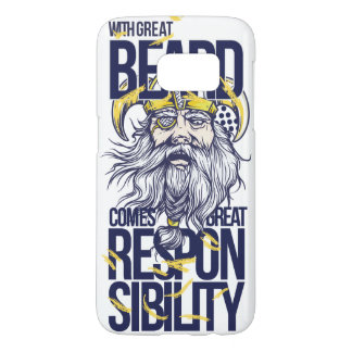 With Great Beard Samsung Galaxy S7 Case