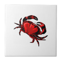 WITH GREAT CLAWS CERAMIC TILE