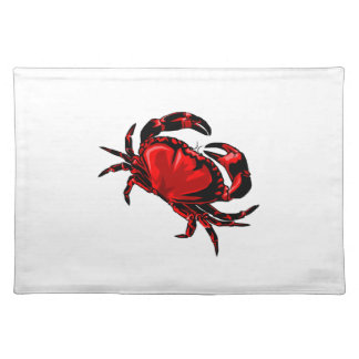 WITH GREAT CLAWS CLOTH PLACE MAT