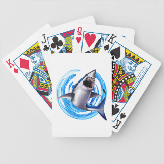 WITH GREAT FORCE BICYCLE PLAYING CARDS