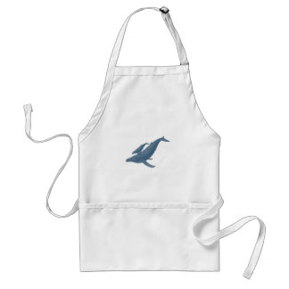 WITH GREAT GUIDANCE ADULT APRON