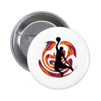 WITH GREAT POWER 2 INCH ROUND BUTTON
