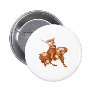 WITH GREAT VALOR PINBACK BUTTON
