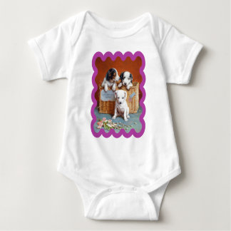 With Hearty Good Wishes by Carl Reichert Baby Bodysuit