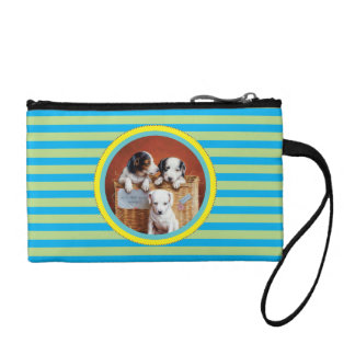 With Hearty Good Wishes by Carl Reichert Change Purse