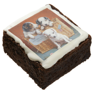 With Hearty Good Wishes by Carl Reichert Chocolate Brownie