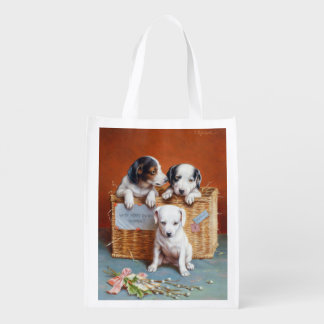 With Hearty Good Wishes by Carl Reichert Reusable Grocery Bag