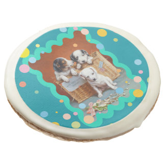 With Hearty Good Wishes by Carl Reichert Sugar Cookie