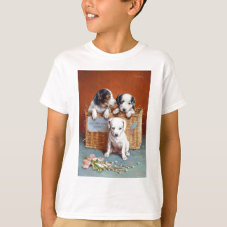 With Hearty Good Wishes by Carl Reichert T-Shirt