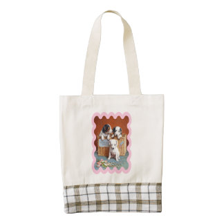 With Hearty Good Wishes by Carl Reichert Zazzle HEART Tote Bag