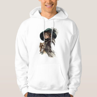 With Her Dog Hoodie