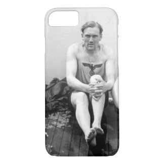 With his feuhrer's trademark_War Image iPhone 8/7 Case