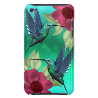 with humming birds Case-Mate iPod touch case