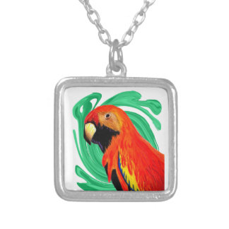WITH IN PARADISE SQUARE PENDANT NECKLACE