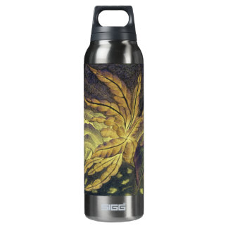 with leaf design 16 oz insulated SIGG thermos water bottle