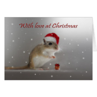 With Love At Christmas Greeting Cards