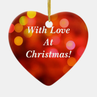 With Love At Christmas! Ornaments