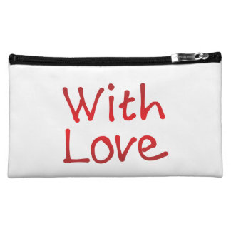 With Love Cosmetic Bag