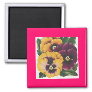 With love flowers fridge magnets