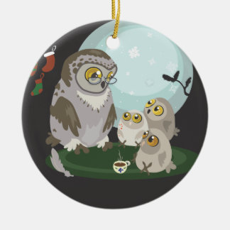 With Love From Granny~Story Telling Owl ornament